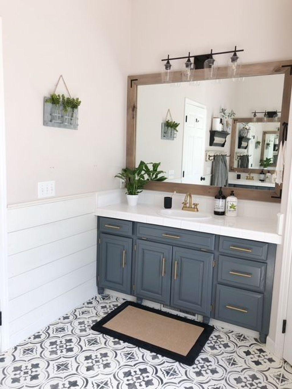 Amazing Farmhouse Bathroom Decor Ideas 25