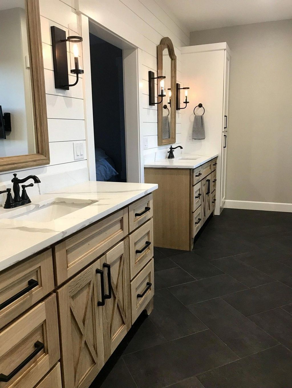 Amazing Farmhouse Bathroom Decor Ideas 28