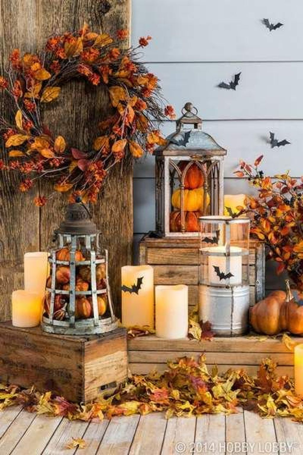 Amazing Front Porch Fall Decor Ideas That You Never Seen Before 17