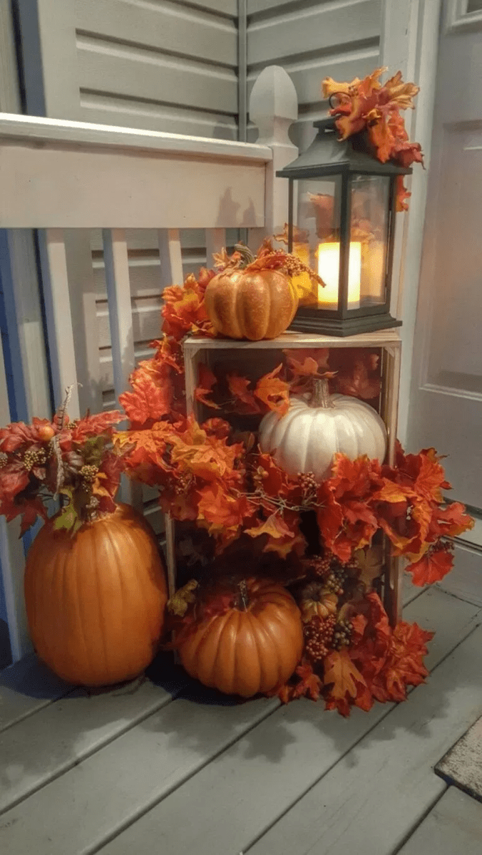 Amazing Front Porch Fall Decor Ideas That You Never Seen Before 24