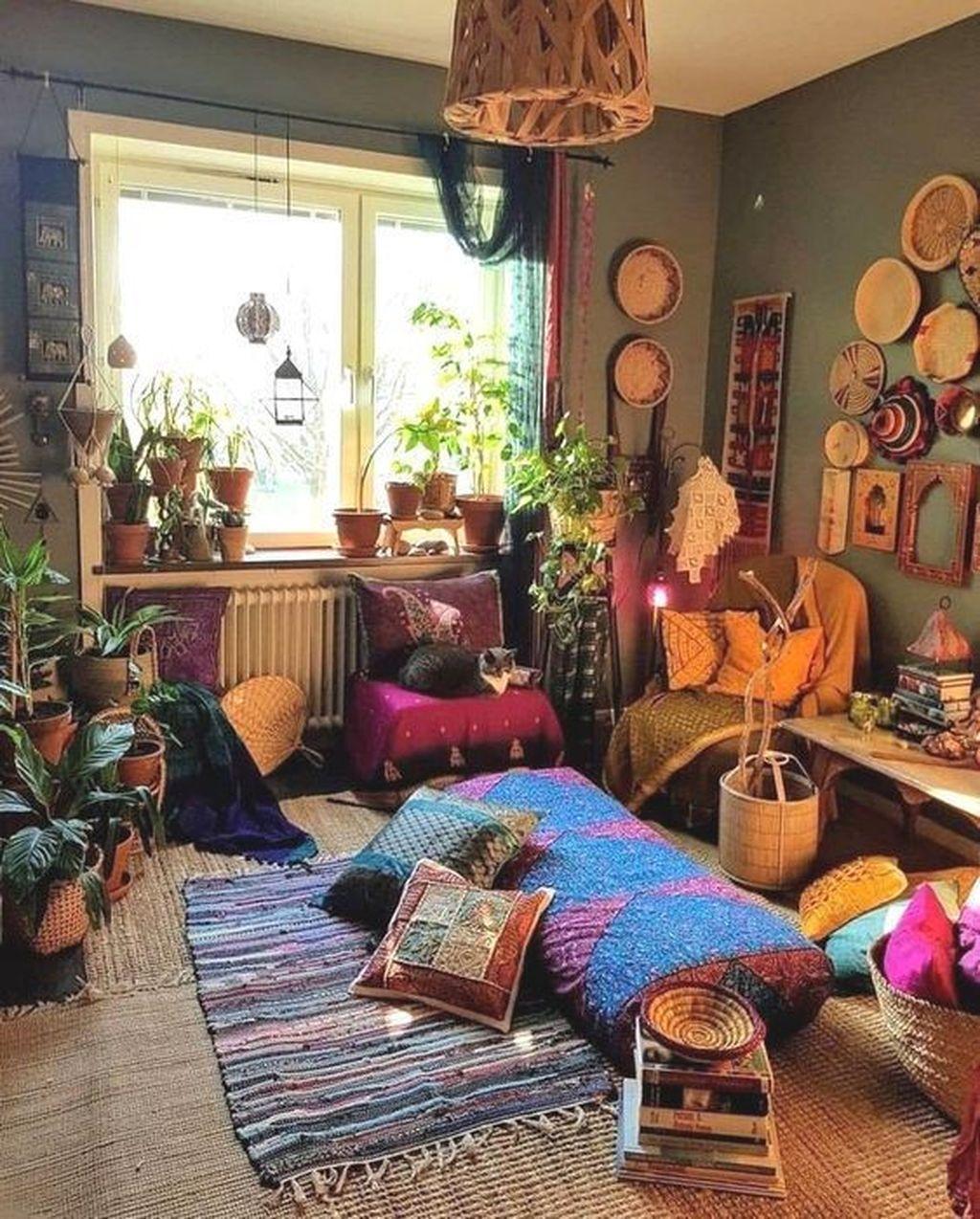 Amazing Vintage Living Room Decor Ideas 12