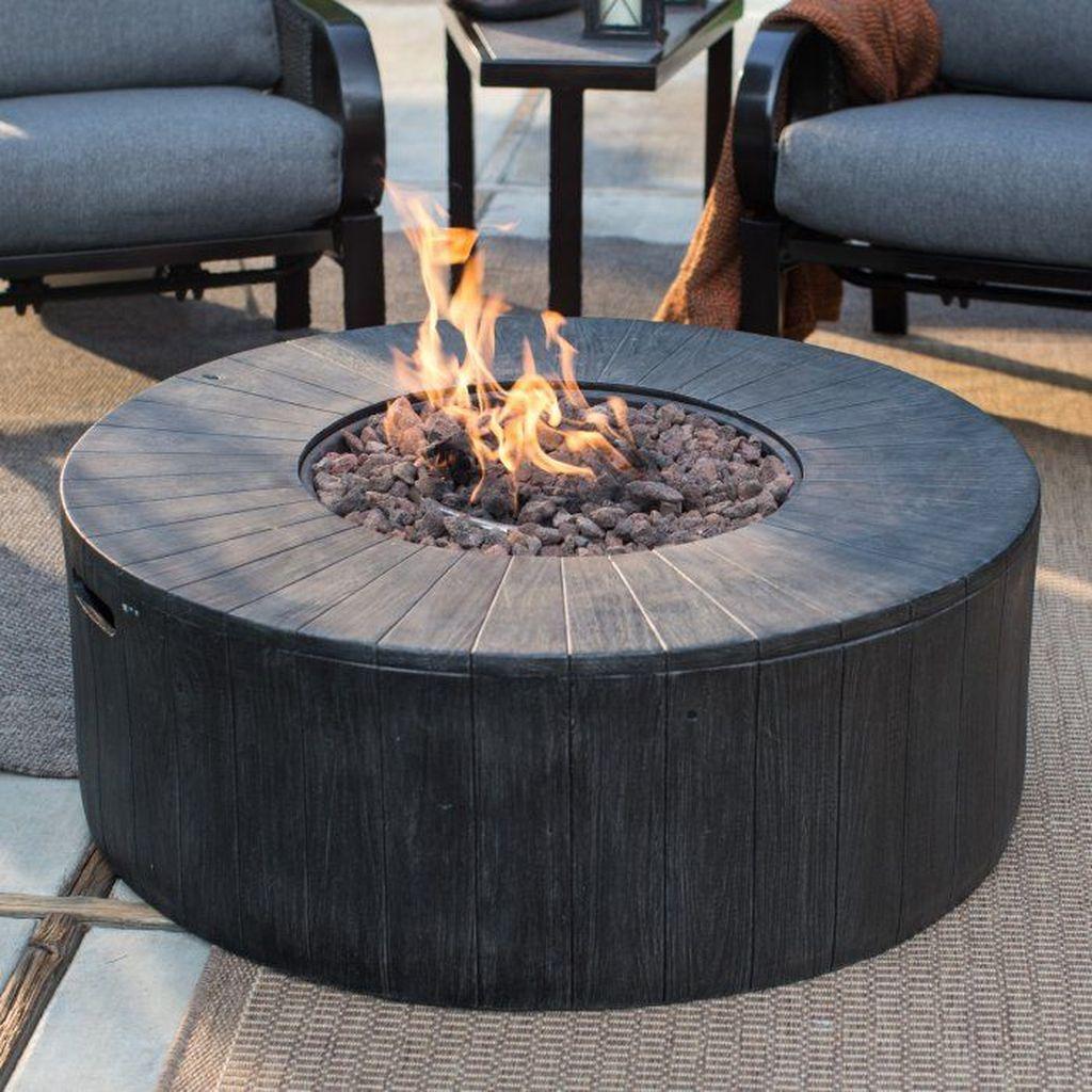 Fabulous Stone Fire Pit Design And Decor Ideas 08