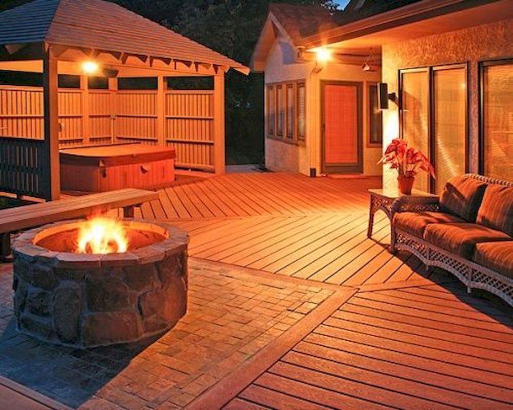 Fabulous Stone Fire Pit Design And Decor Ideas 11