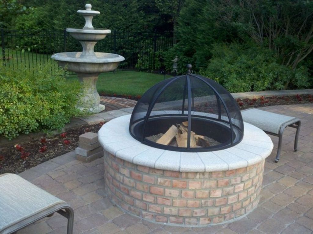 Fabulous Stone Fire Pit Design And Decor Ideas 18