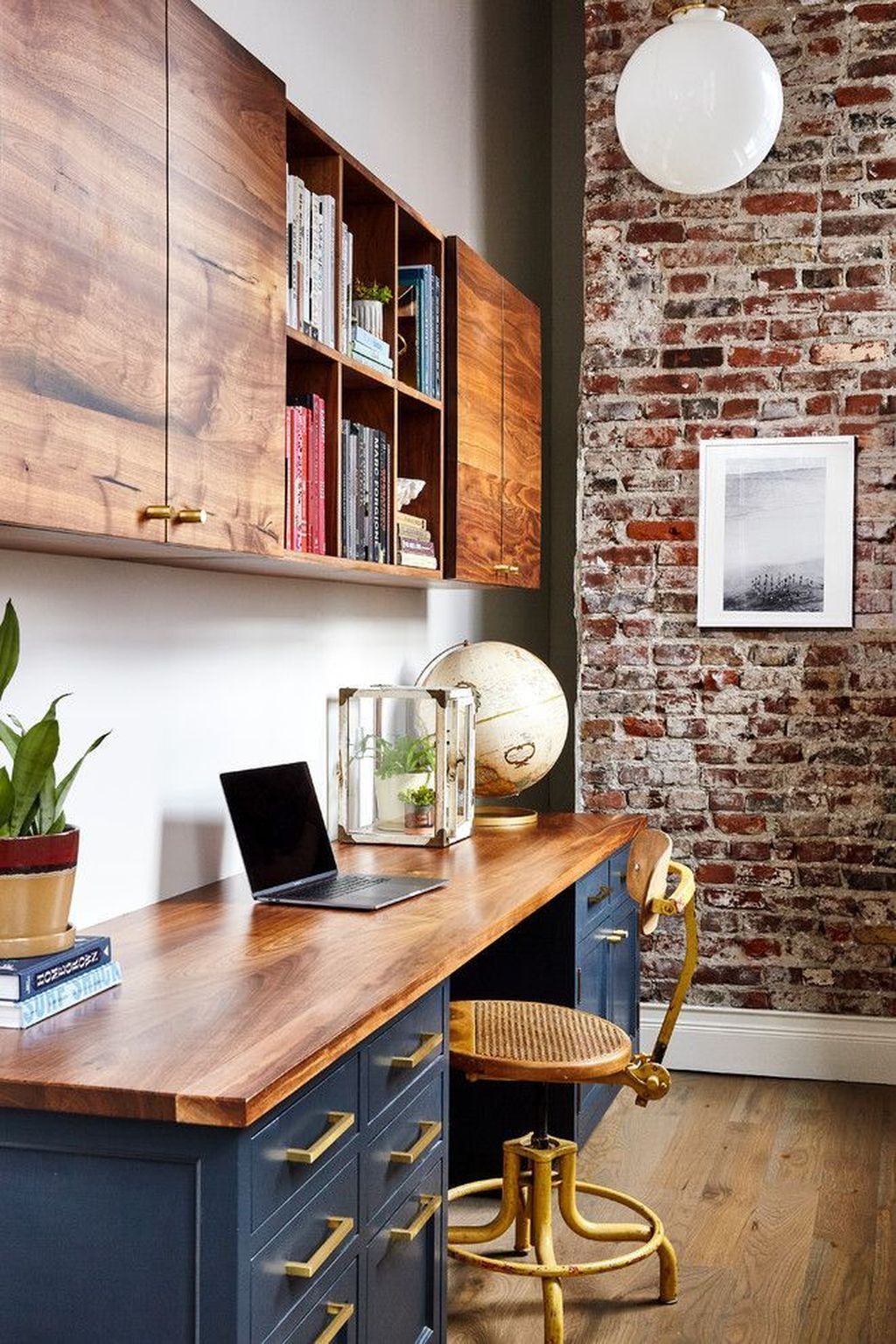 Gorgeous Home Office Design Ideas For Men 11