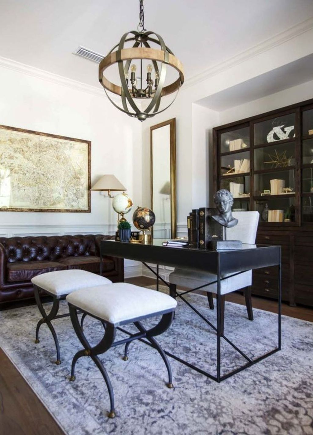 Gorgeous Home Office Design Ideas For Men 12