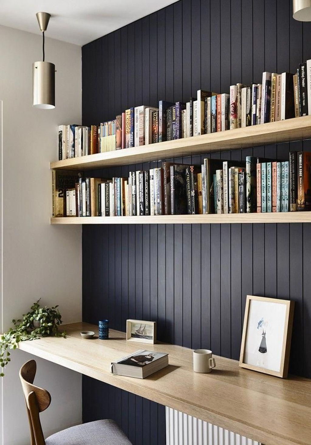Gorgeous Home Office Design Ideas For Men 16