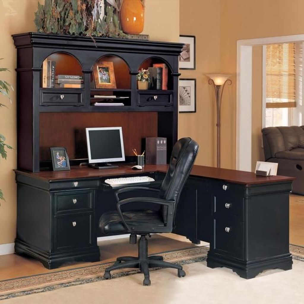 Gorgeous Home Office Design Ideas For Men 22