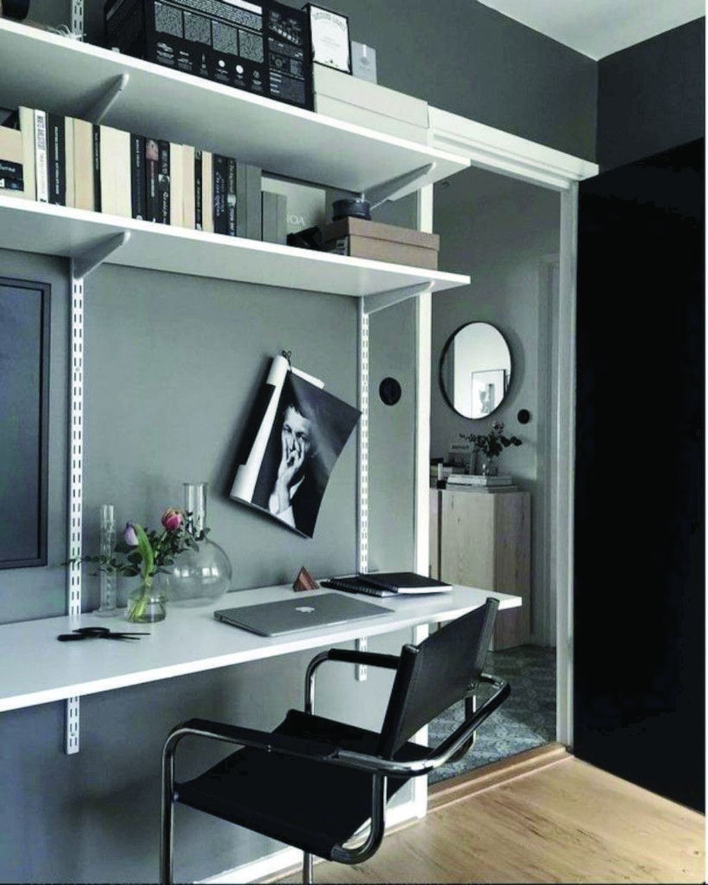 Gorgeous Home Office Design Ideas For Men 29