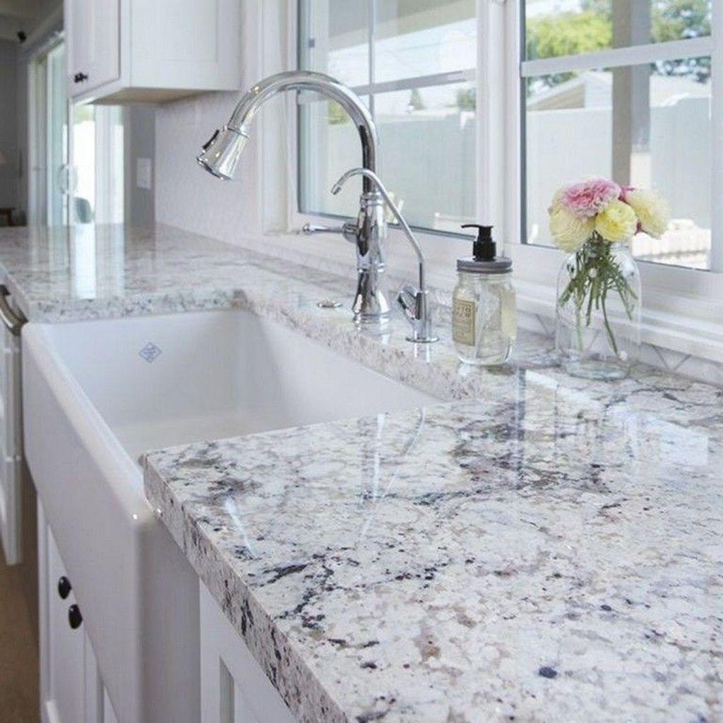 Gorgeous Kitchen Countertops Design Ideas 20