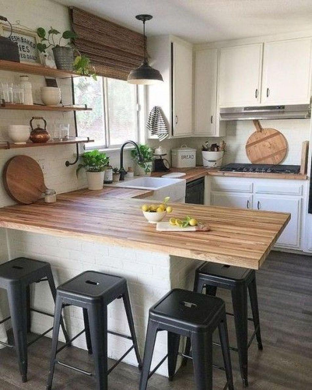 Gorgeous Kitchen Countertops Design Ideas 26