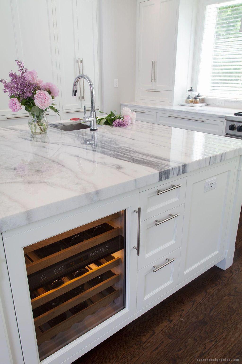 Gorgeous Kitchen Countertops Design Ideas 28