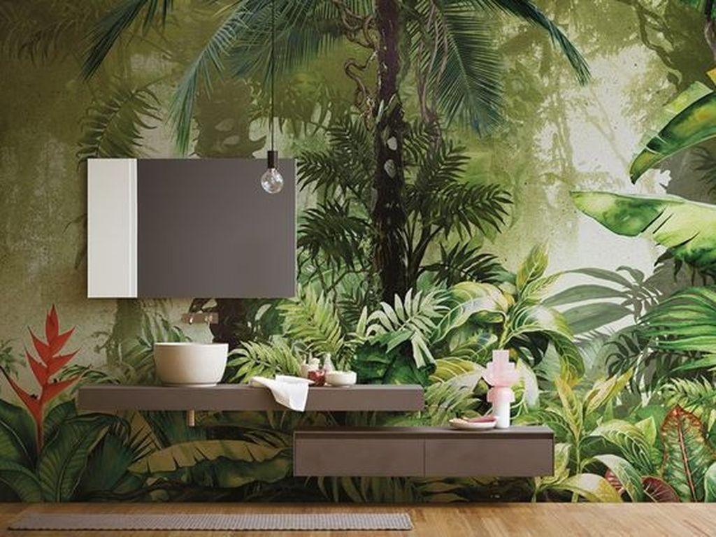 Inspiring Jungle Bathroom Decor Ideas 05