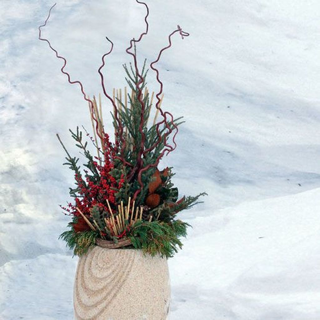 Inspiring Winter Container Gardening Ideas 07