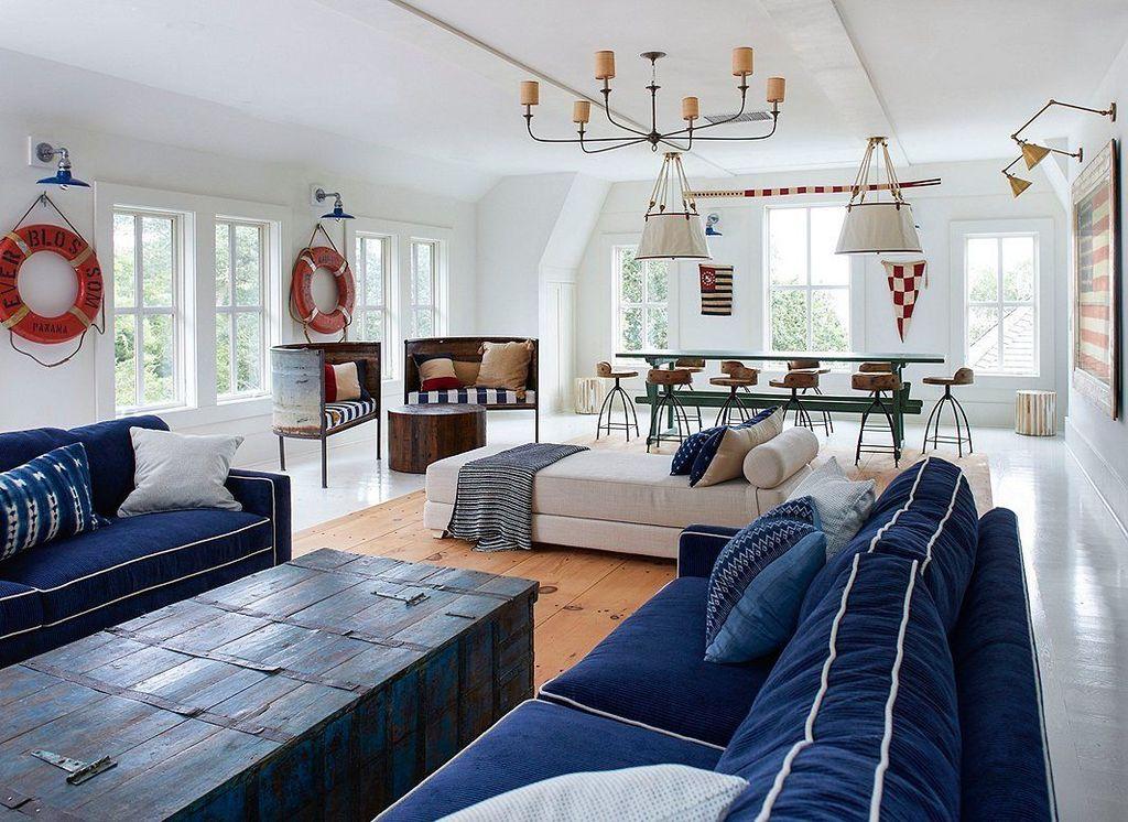Lovely Capde Cod Living Room Design Ideas 10