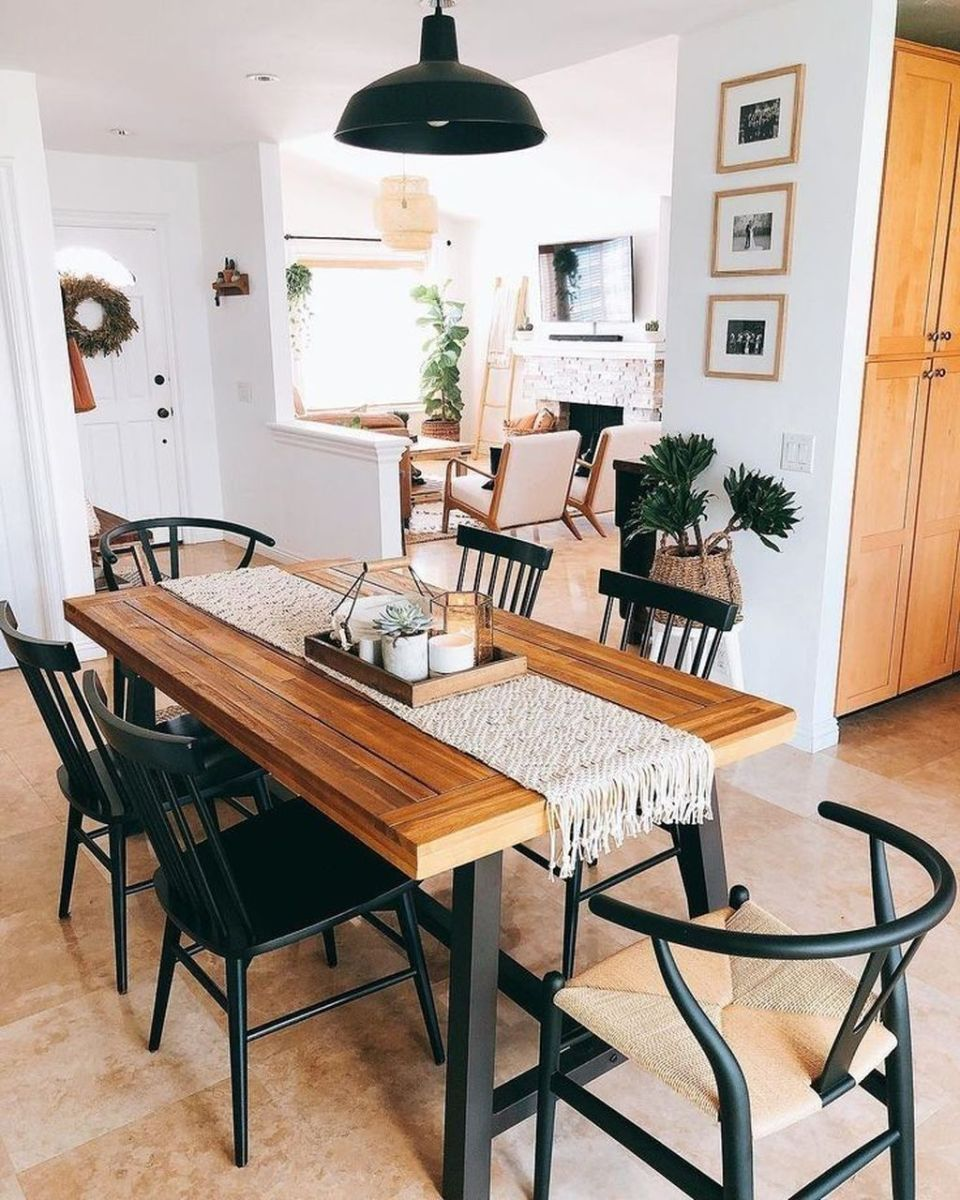 Lovely Family Dining Room Design And Decor Ideas 10
