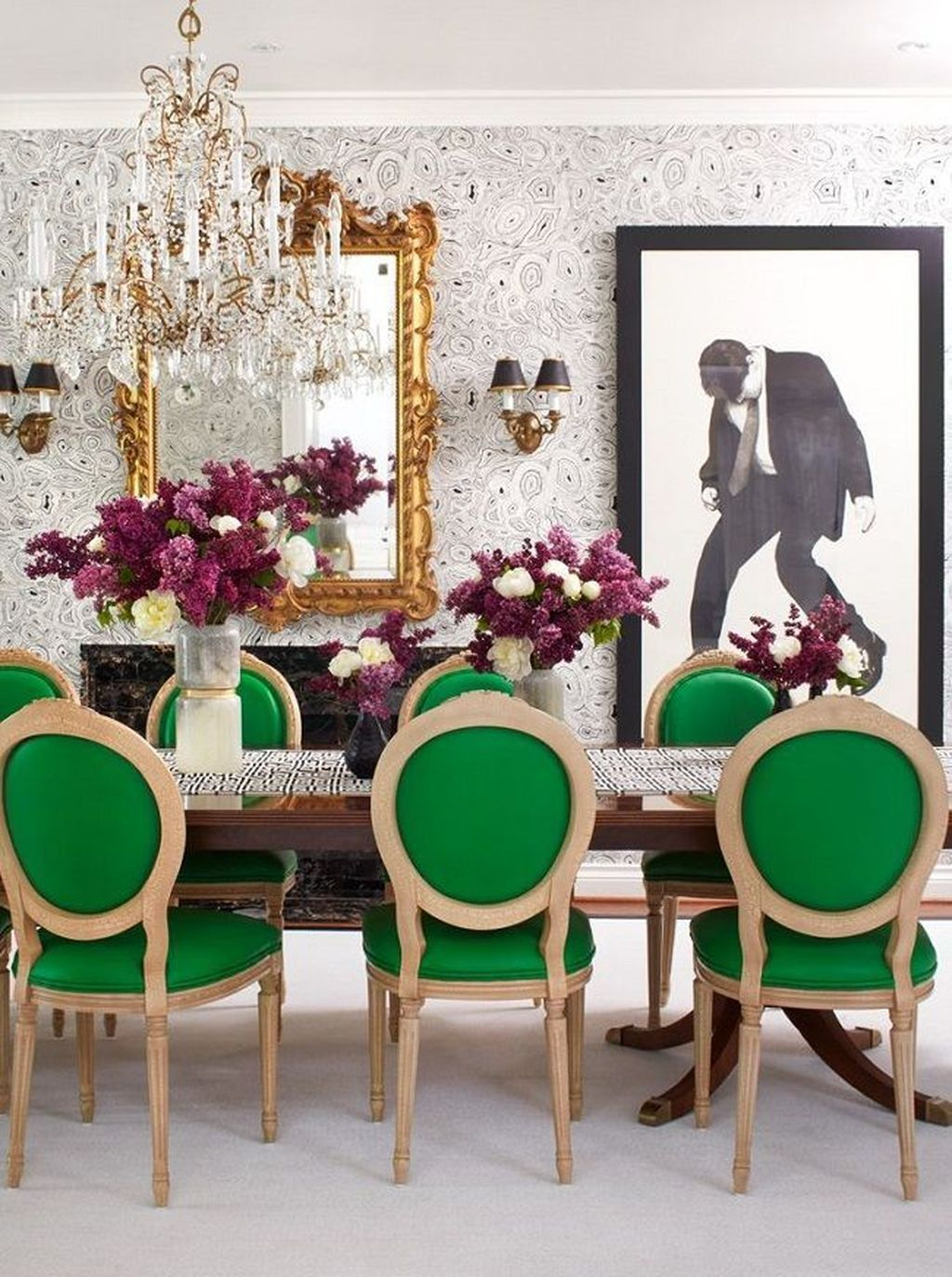 Lovely Family Dining Room Design And Decor Ideas 18