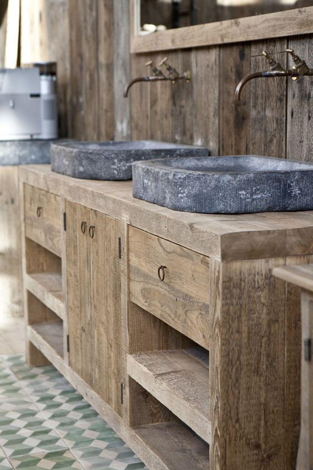Lovely Farmhouse Bathroom Design Ideas 09