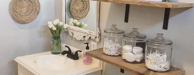 Lovely Farmhouse Bathroom Design Ideas 17