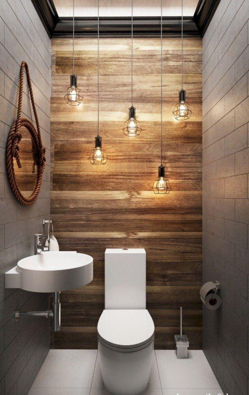 Lovely Farmhouse Bathroom Design Ideas 19