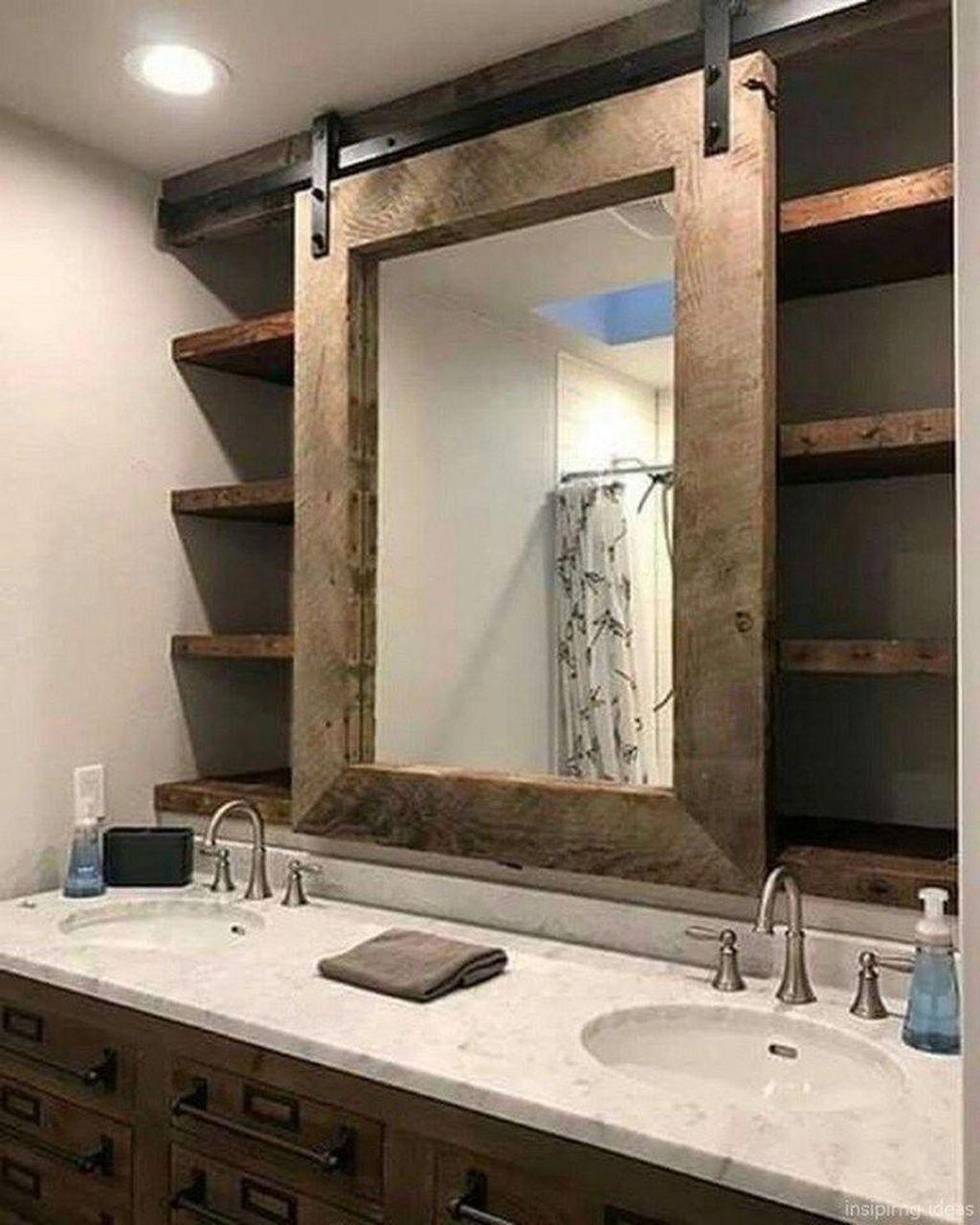 Lovely Farmhouse Bathroom Design Ideas 32