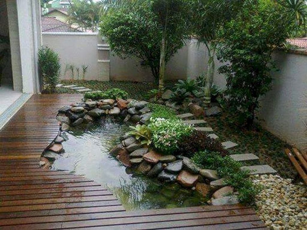 Lovely Small Home Garden Ideas That You Will Want 23