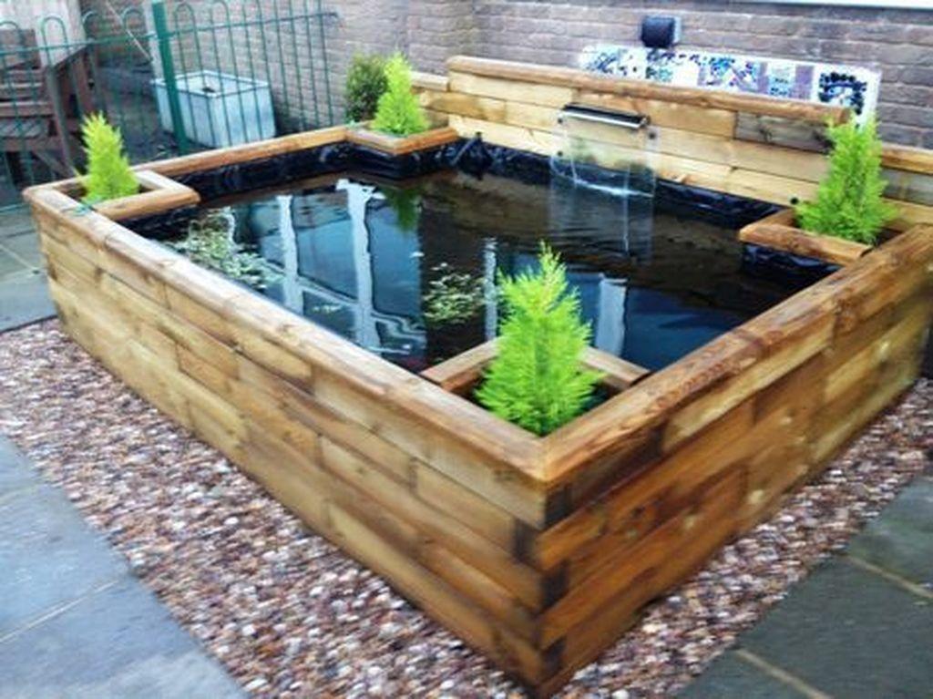 Nice Fish Ponds Backyard Decoration Ideas 01
