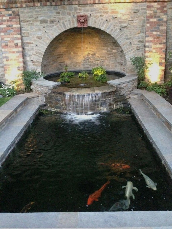 Nice Fish Ponds Backyard Decoration Ideas 19