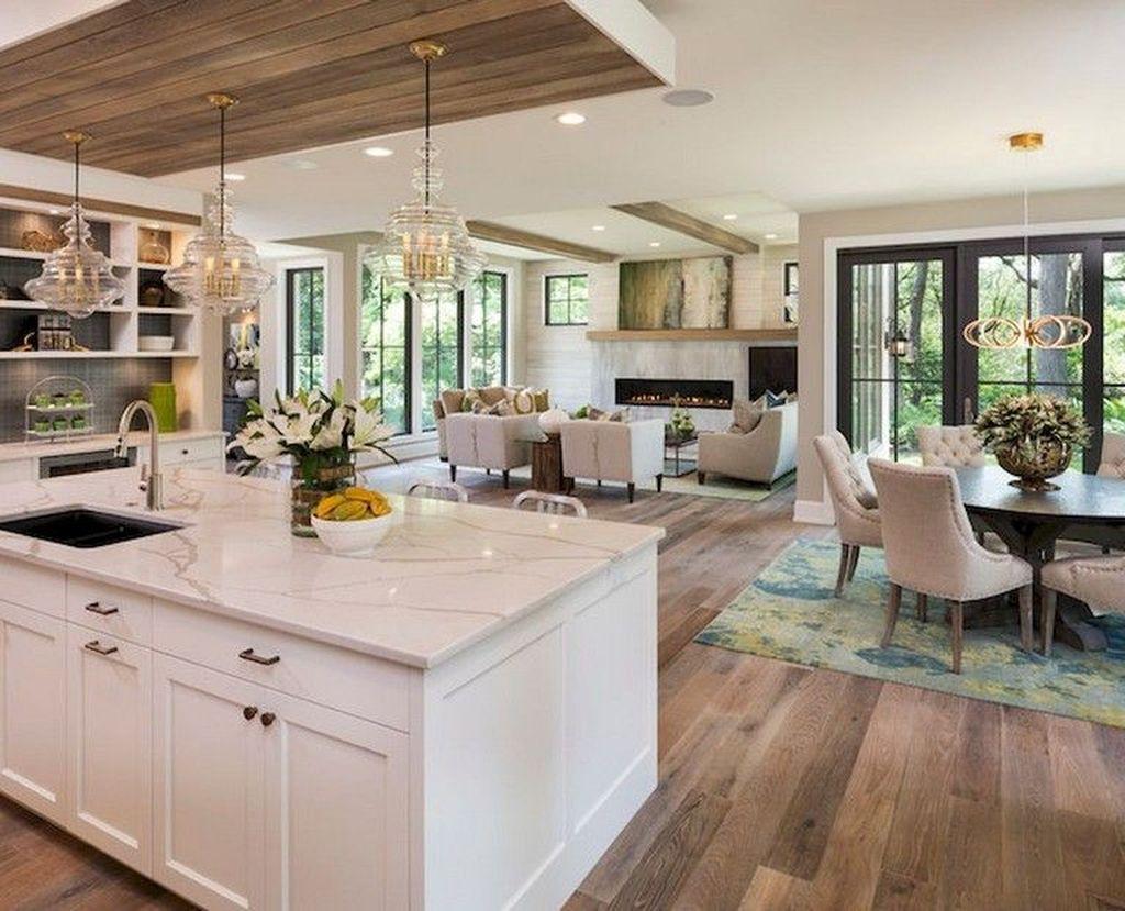 Stunning Farmhouse Interior Design Ideas To Realize Your Dreams 18