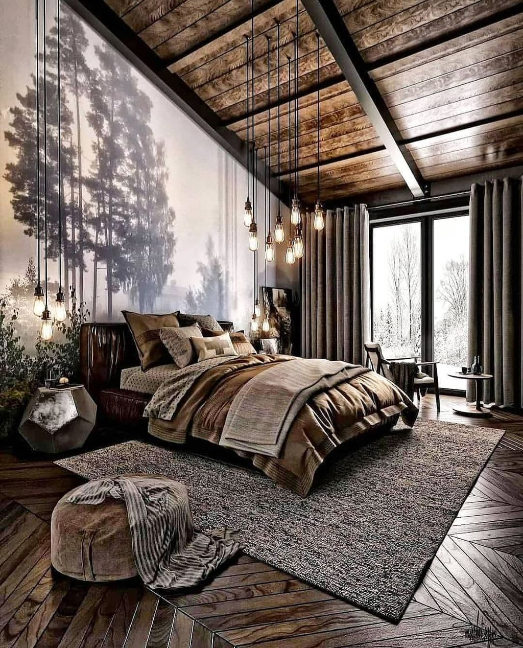 Stunning Rustic Interior Design Ideas That You Will Like 13