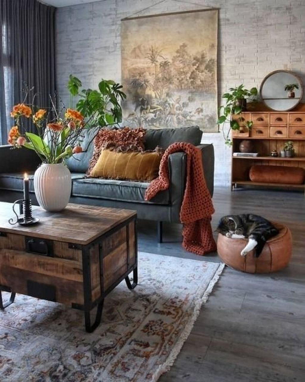 Stunning Rustic Interior Design Ideas That You Will Like 20