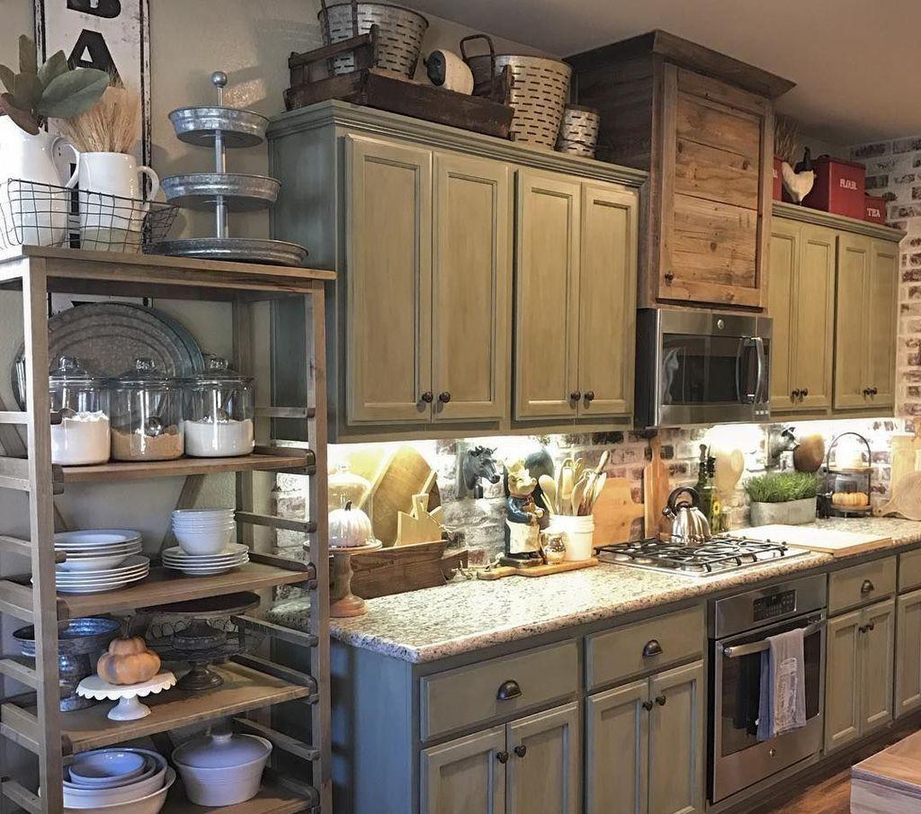 Stunning Rustic Kitchen Design And Decor Ideas 05