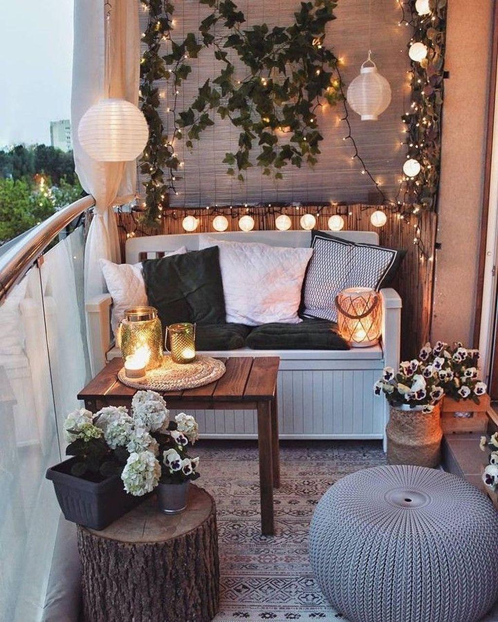 The Best Apartment Balcony Decor Ideas For Fall Season 23