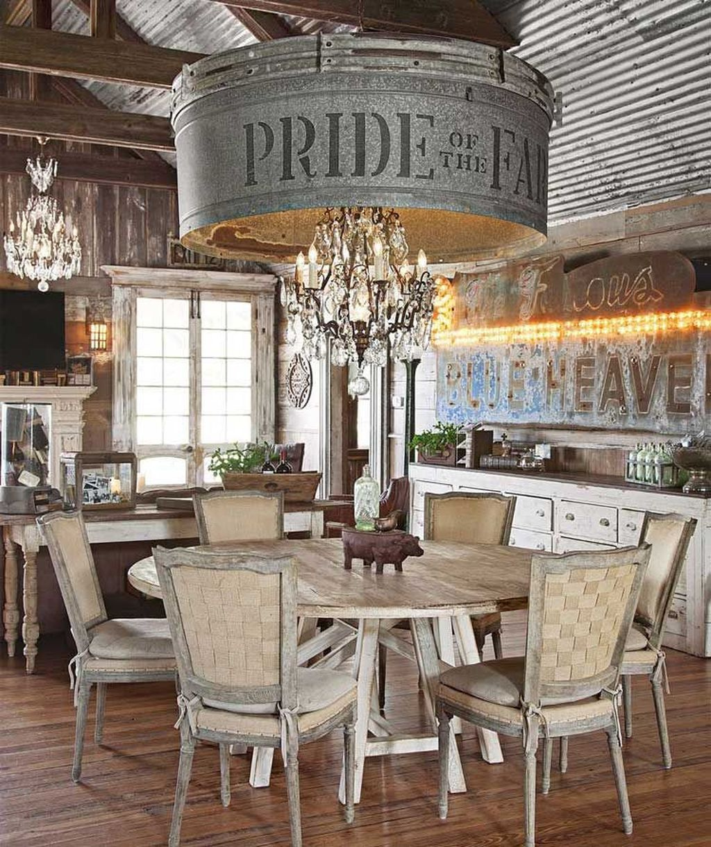 The Best Country Style Interior Design Ideas 03