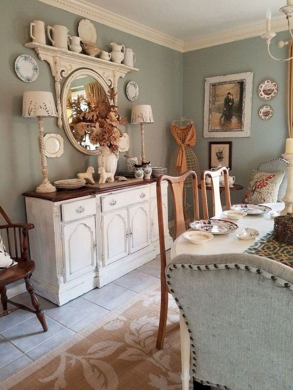 The Best Country Style Interior Design Ideas 11