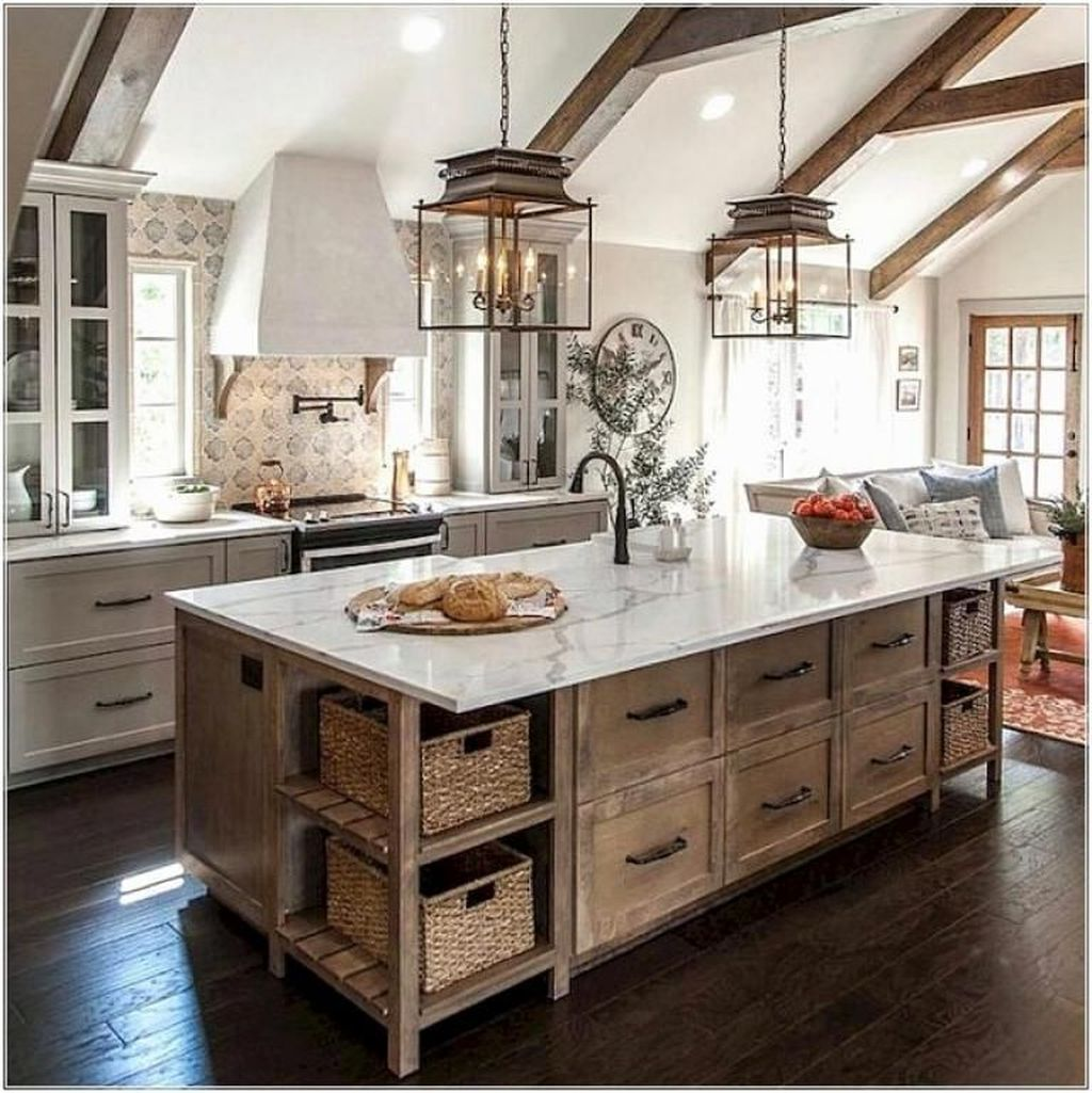 The Best Farmhouse Kitchen Design Ideas For You Try 15
