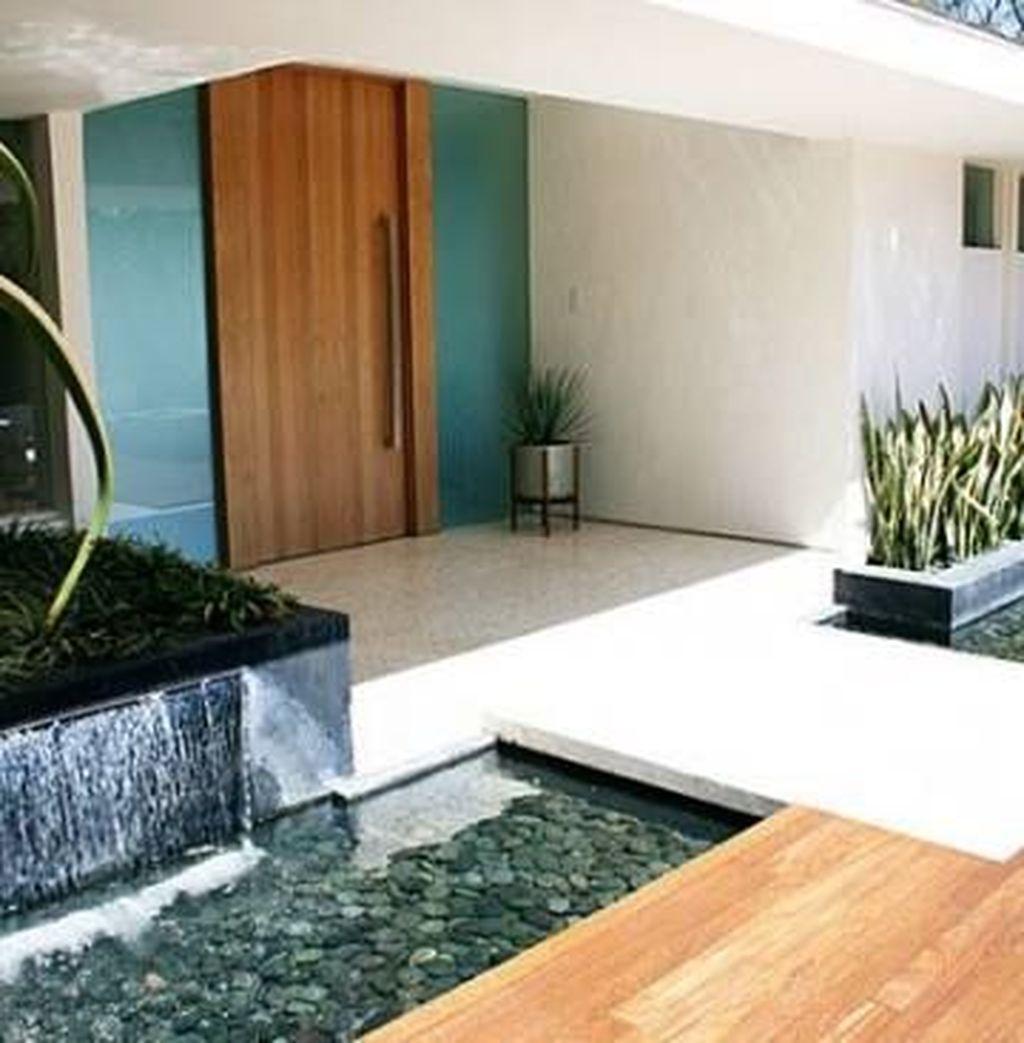 The Best Modern Front Entrance Exterior Design Ideas 01