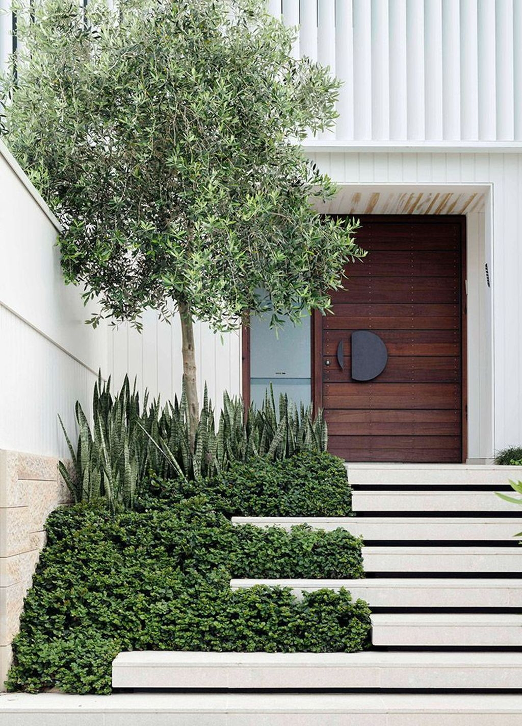 The Best Modern Front Entrance Exterior Design Ideas 04