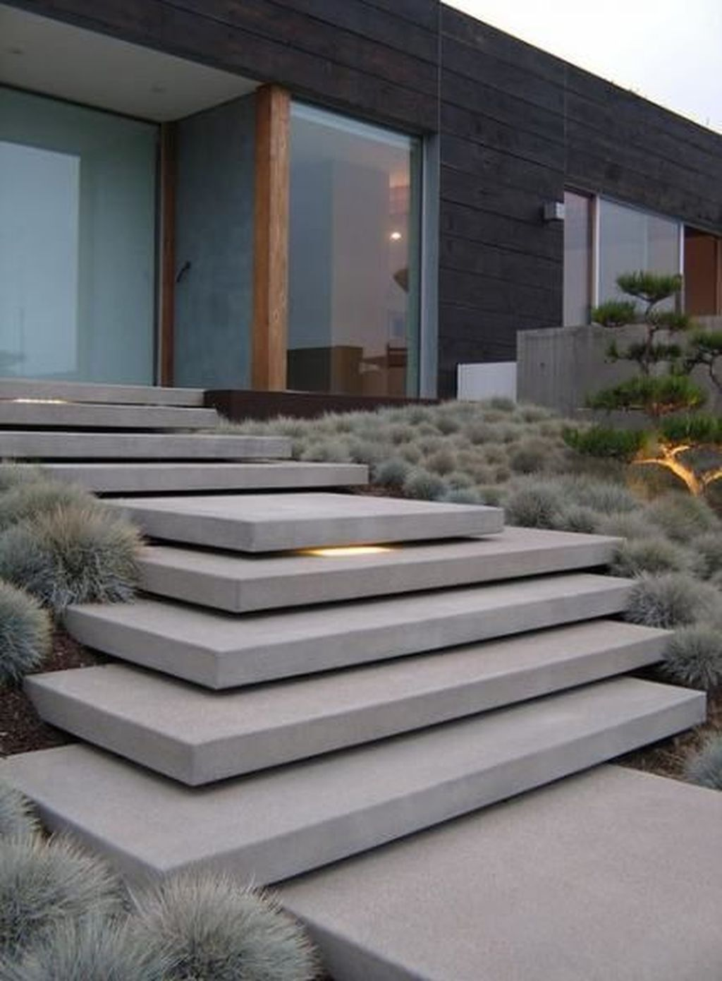 The Best Modern Front Entrance Exterior Design Ideas 06