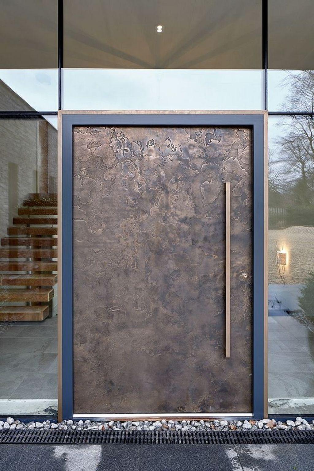 The Best Modern Front Entrance Exterior Design Ideas 07