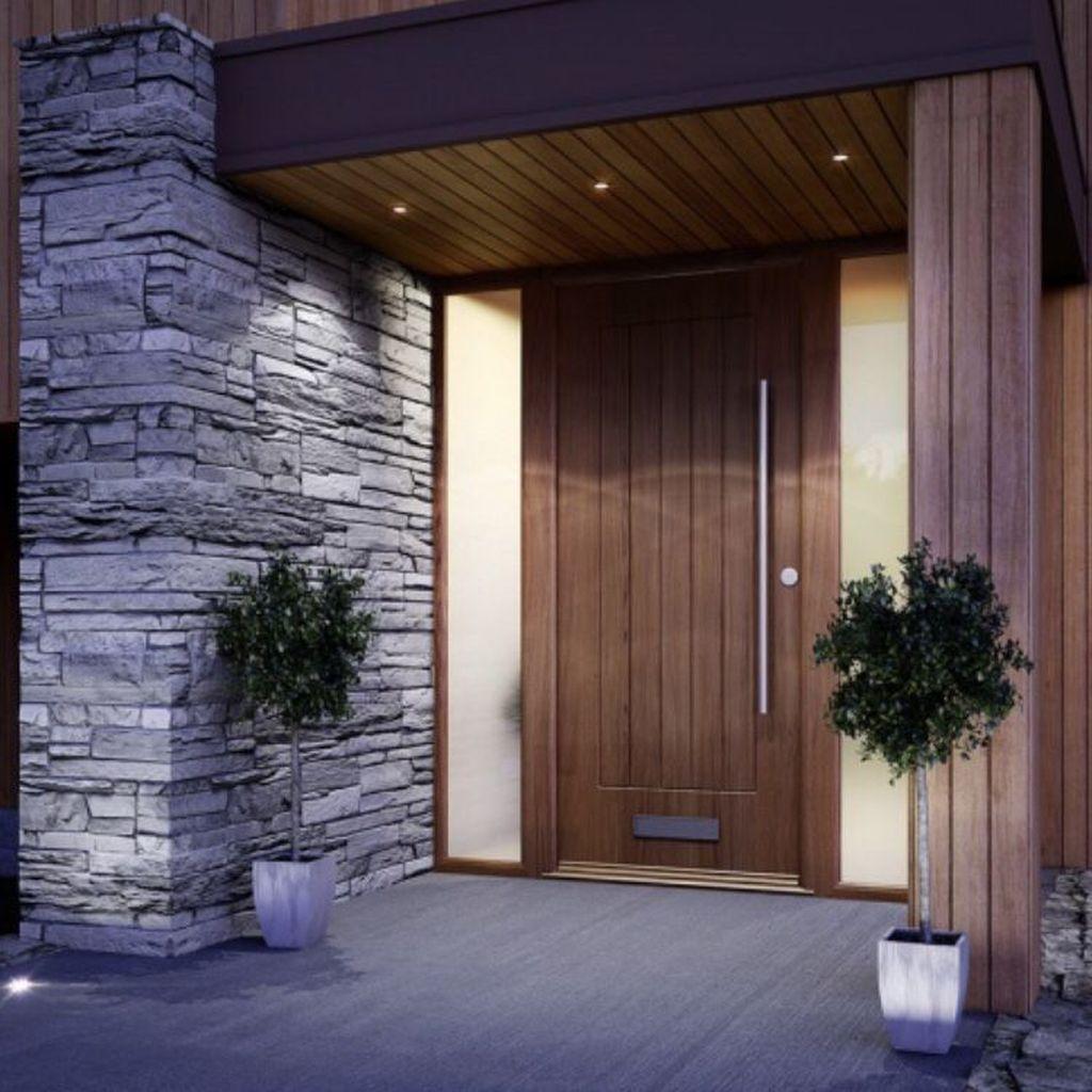 Home Design Ideas Front: 32 The Best Modern Front Entrance Exterior Design Ideas