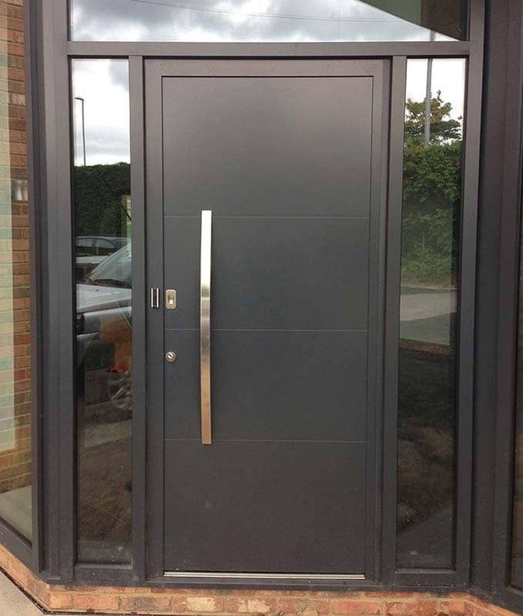 The Best Modern Front Entrance Exterior Design Ideas 11