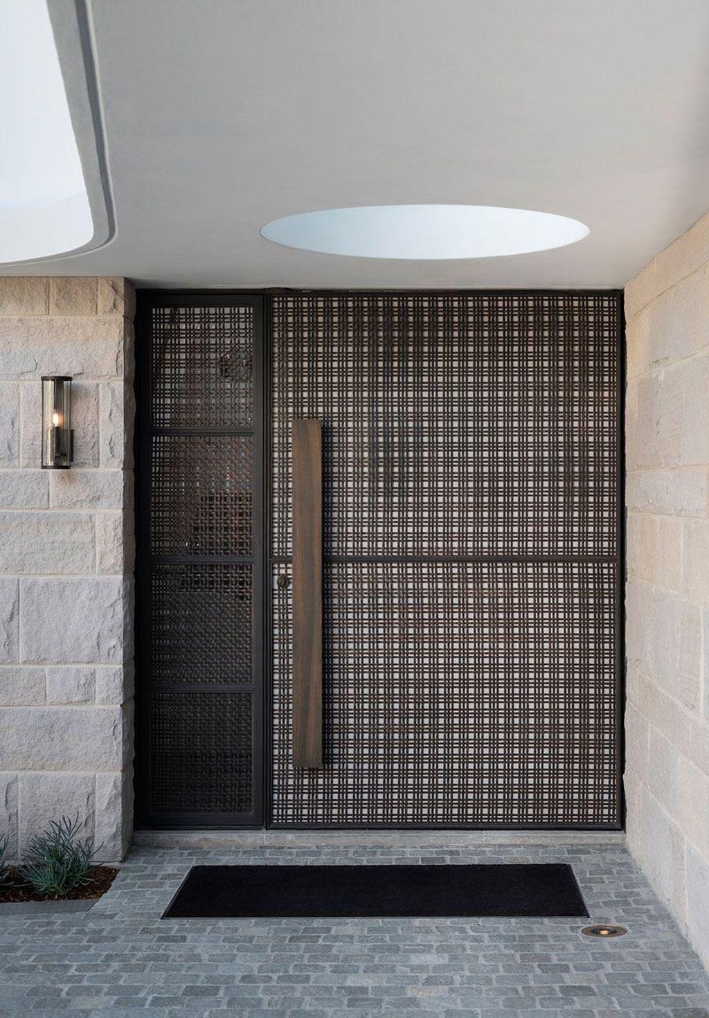 The Best Modern Front Entrance Exterior Design Ideas 14