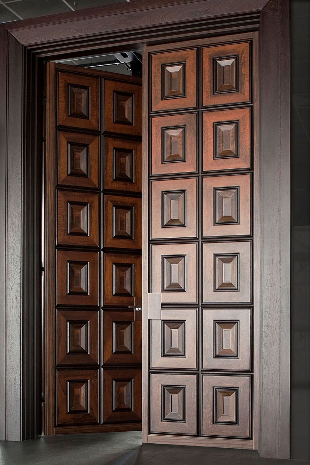 The Best Modern Front Entrance Exterior Design Ideas 16
