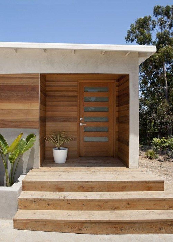 The Best Modern Front Entrance Exterior Design Ideas 25