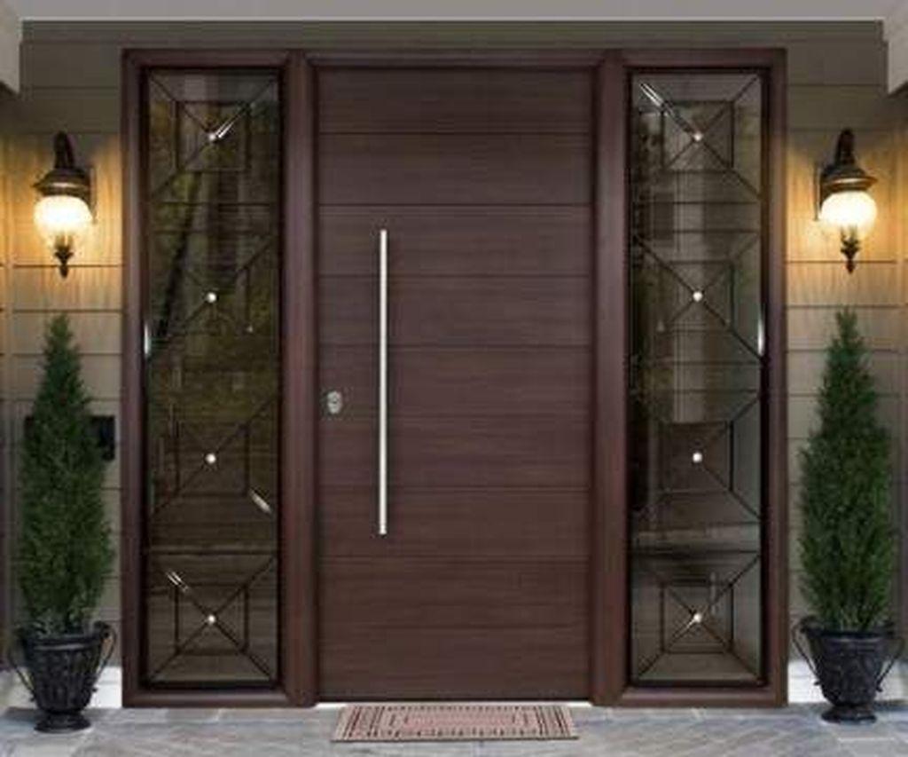 The Best Modern Front Entrance Exterior Design Ideas 26