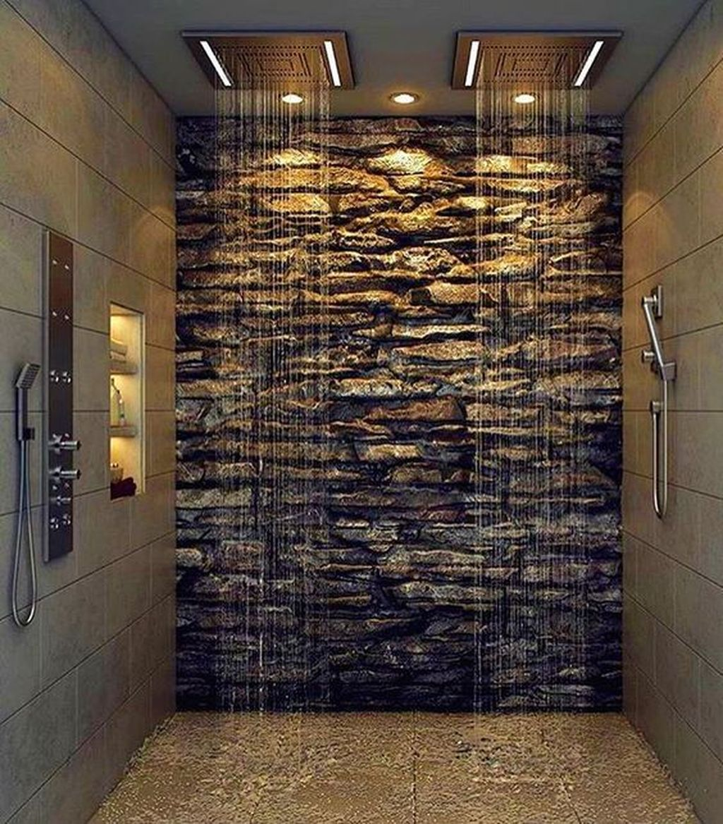 The Best Stone Tile Bathroom Ideas To Decorate Your Bathroom 36