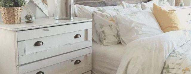 Wonderful Farmhouse Bedroom Decoration Ideas 12