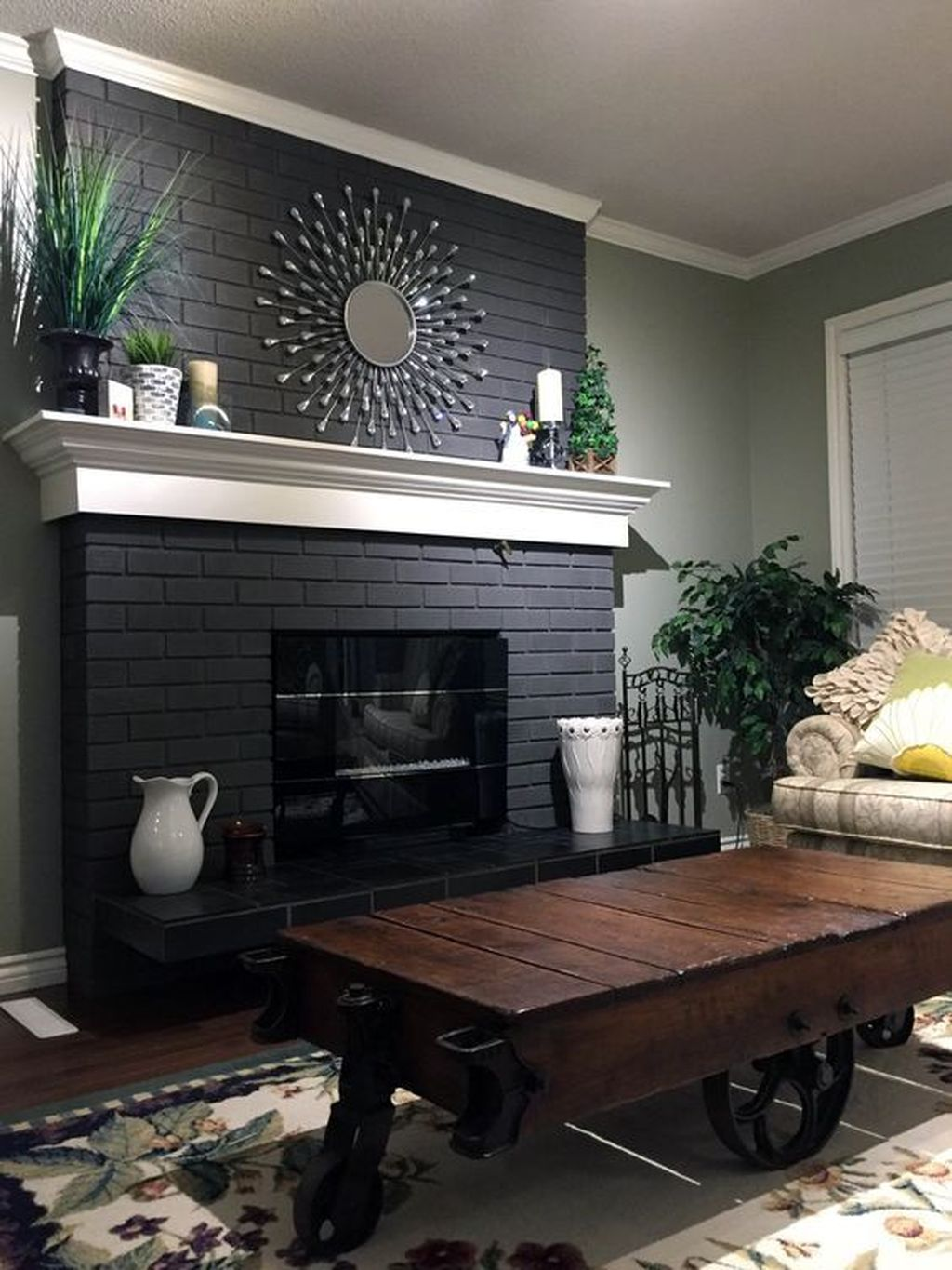 Awesome Living Room Design Ideas With Fireplace 15