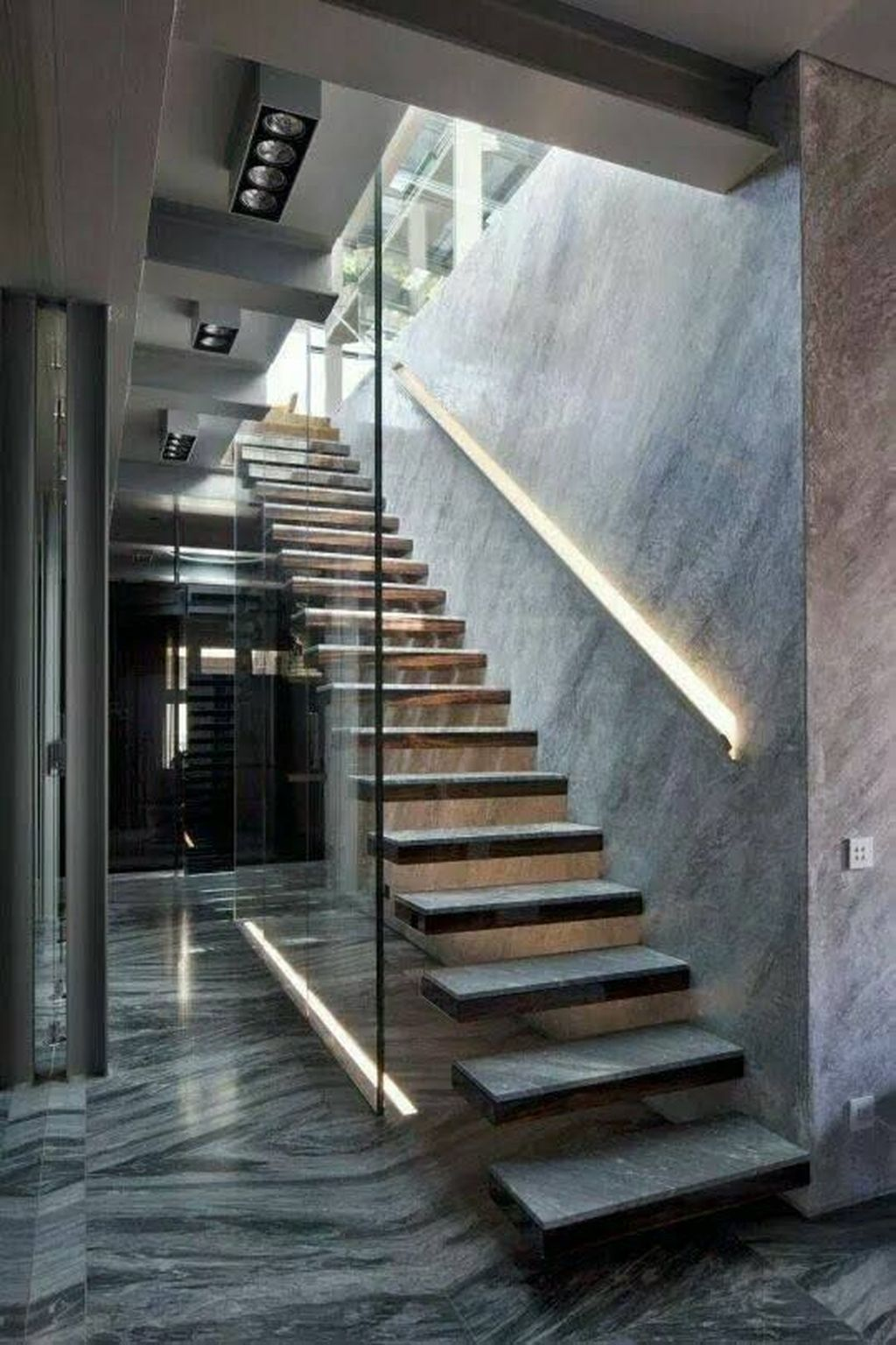 Awesome Minimalist Home Stairs Design Ideas 19